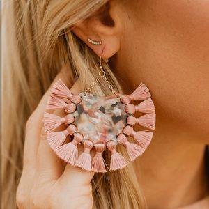 Jewelry - Fringe Statement Earrings